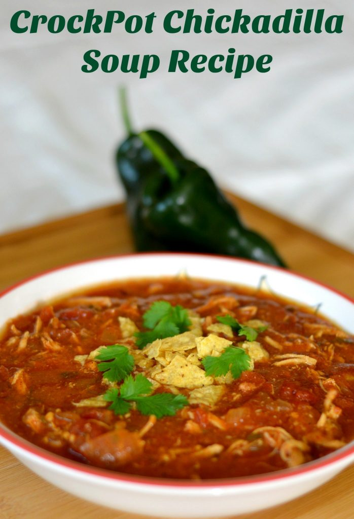 CrockPot Chickadilla Soup Recipe: Easy Crockpot Chicken Soup Recipes