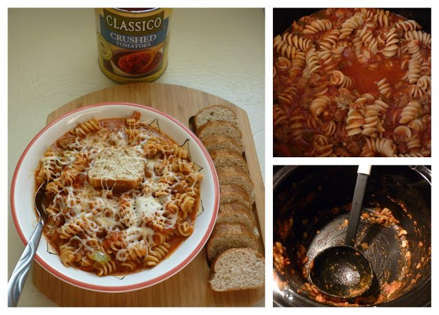 lasagna-soup steps