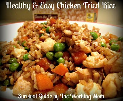 Healthy and easy chicken fried rice recipe with minute rice healthy and easy chicken fried rice recipe with minute rice loveeveryminute ccuart Choice Image