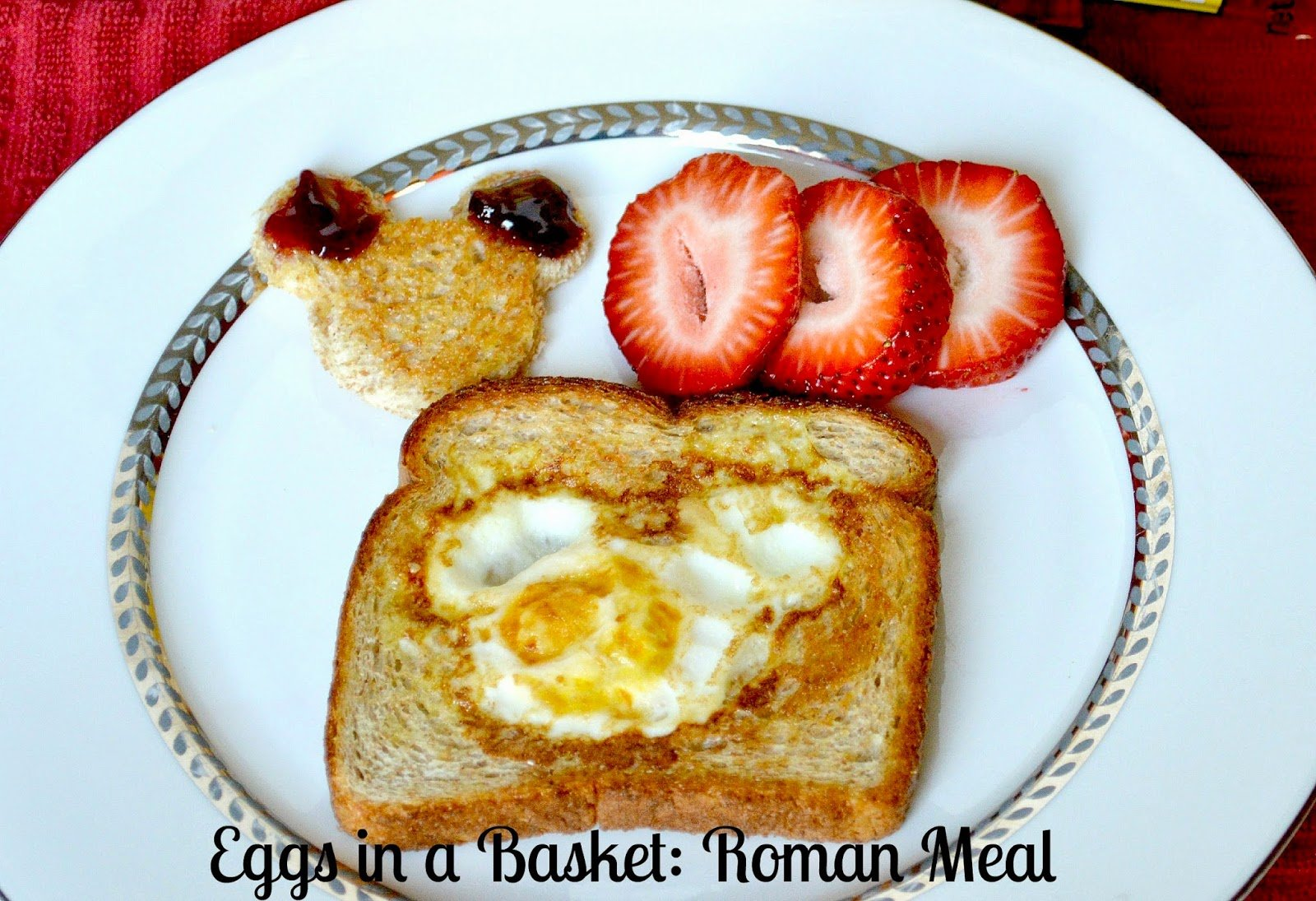 Easy eggs in a basket recipe with roman meal roman meal i participated in an influencer activation on behalf of mom central consulting for roman meal i received product samples to facilitate my review and a forumfinder Images