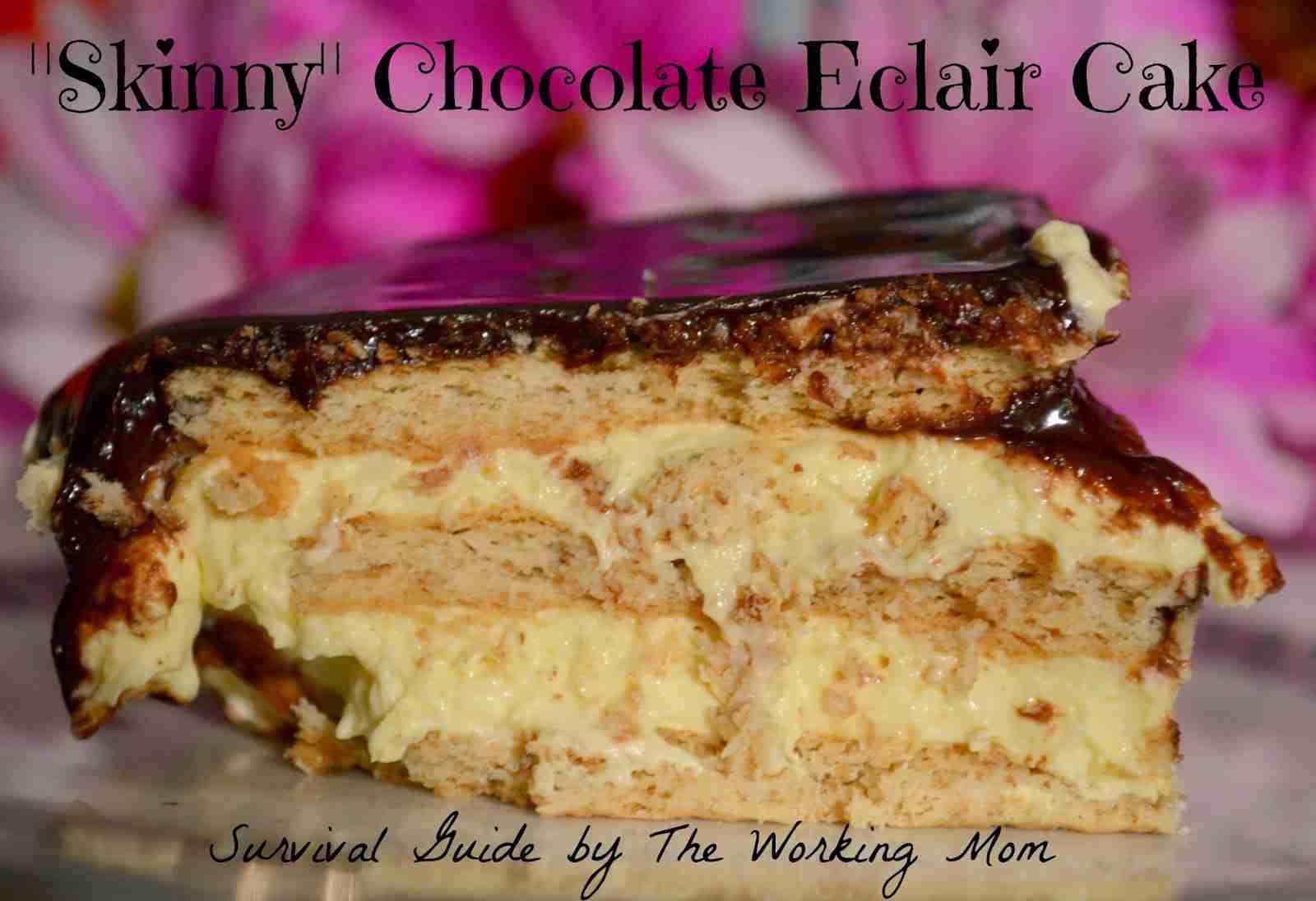skinny eclair cake recipe