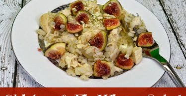 chicken and fig winter salad