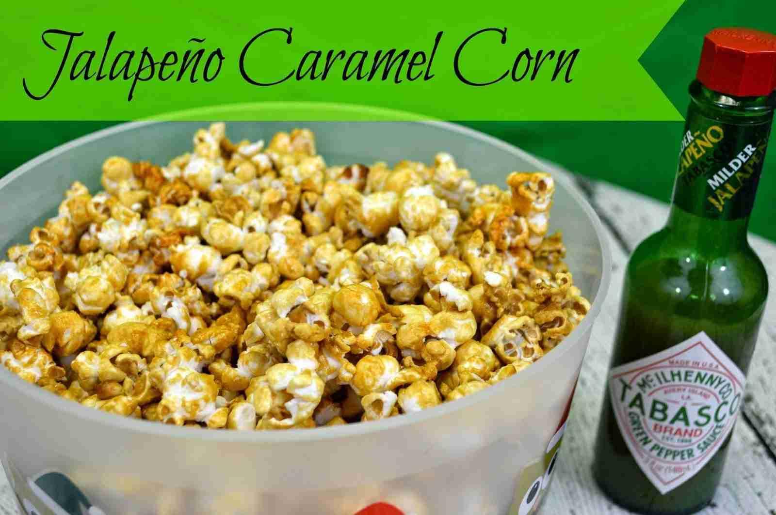 jalapeno caramel corn recipe