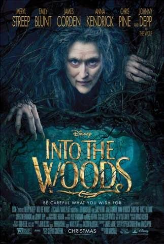 into the woods movie poster review