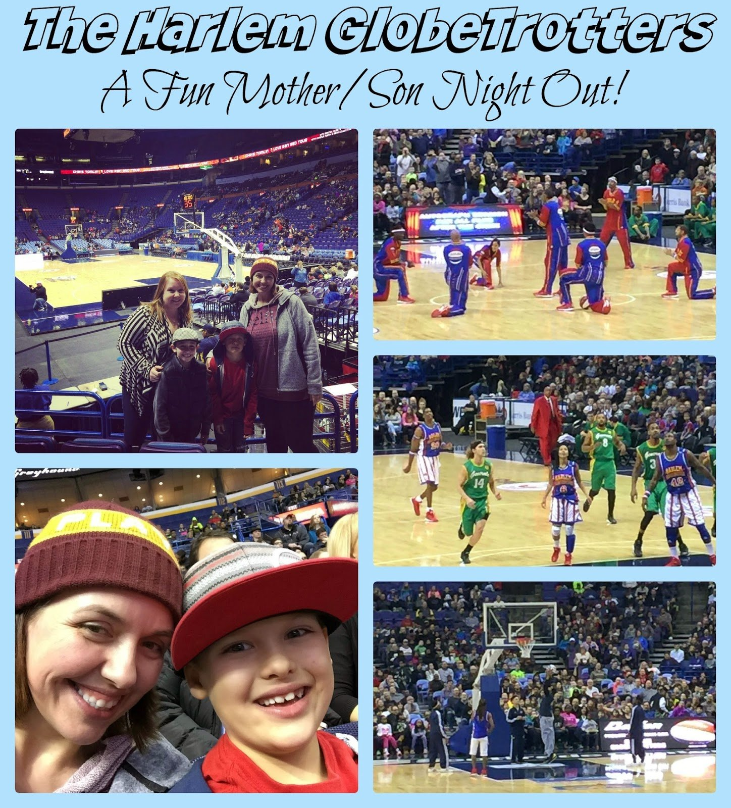 harlem globetrotters family night out