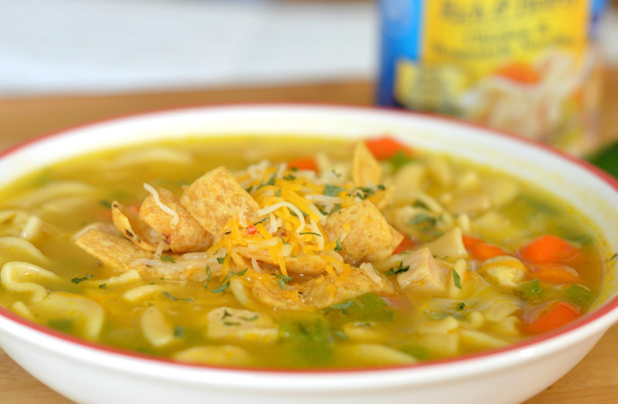how to cook chicken noodle soup from can