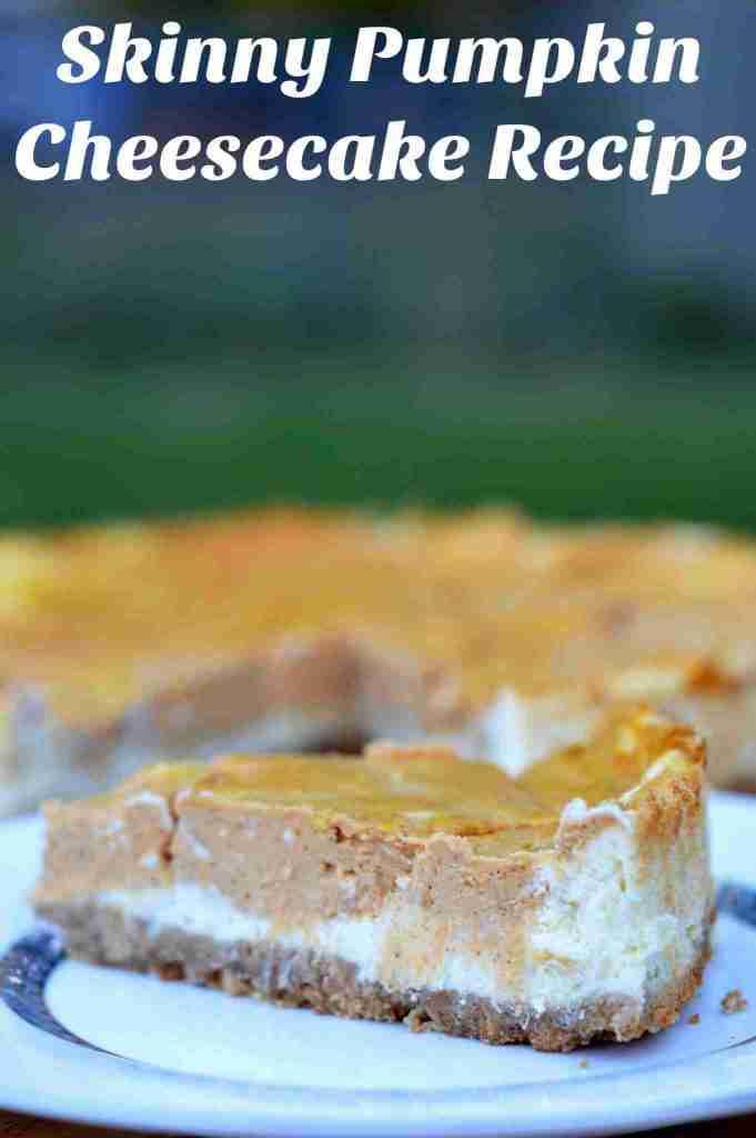 Easy Pumpkin Cheesecake Recipe: Skinny Version