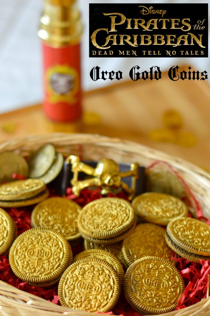Pirates Of The Caribbean: Dead Men Tell No Tales Edible Gold Coins & Activity Sheets