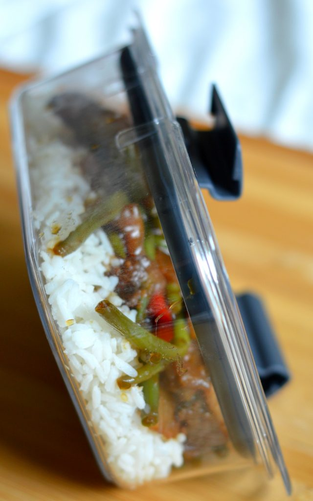 Easy Crockpot Mongolian Beef Recipe: Lunches Made Simple With Rubbermaid® BRILLIANCE
