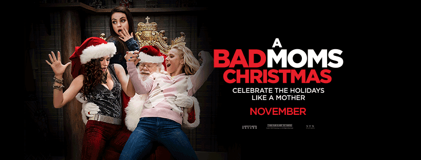 Bad Moms Xmas: Win An Advance Screening & Dinner With Cocktails