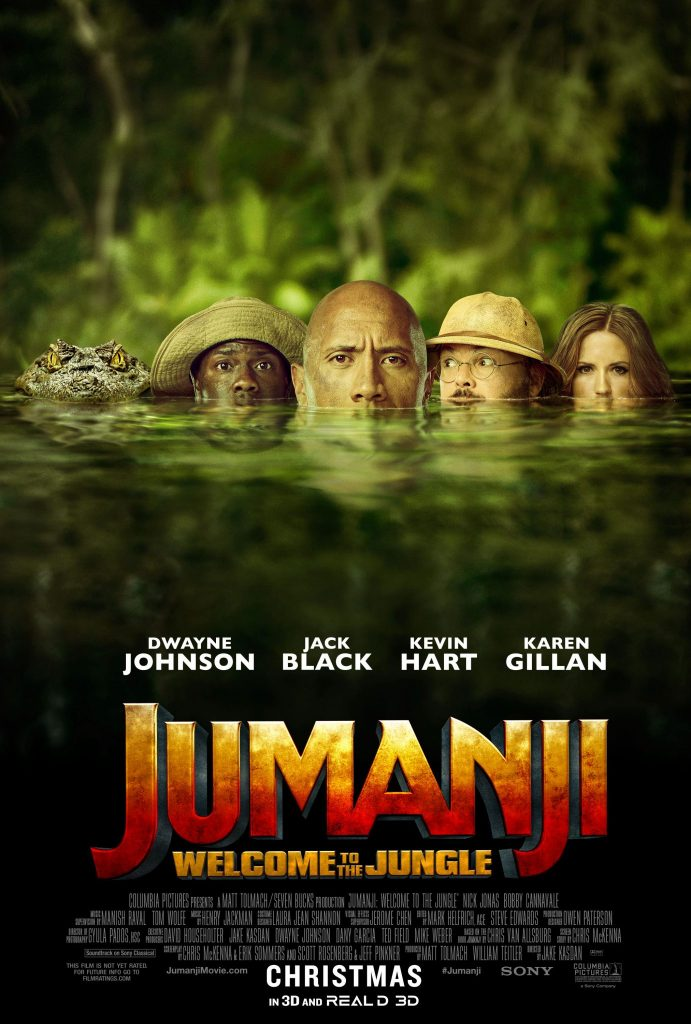 JUMANJI: WELCOME TO THE JUNGLE Ticket Giveaway