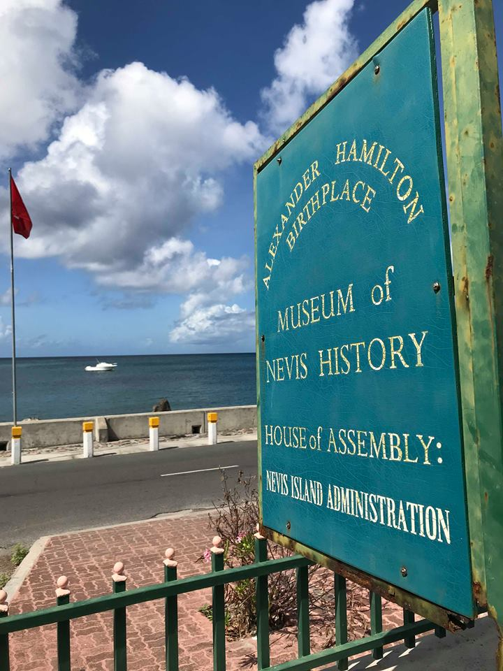 Nevis Island The Birthplace of Alexander Hamilton: Happy Birthday To You