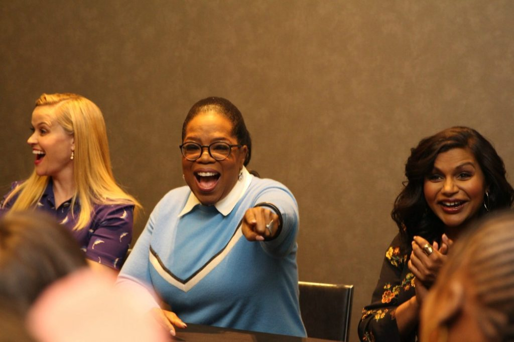 EXCLUSIVE Interview with Oprah, Reese & Mindy: A Wrinkle In Time