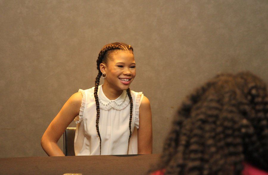 EXCLUSIVE INTERVIEW WITH STORM REID: MEG IN A WRINKLE IN TIME