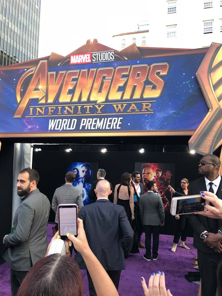 Avengers: Infinity War Red Carpet Experience