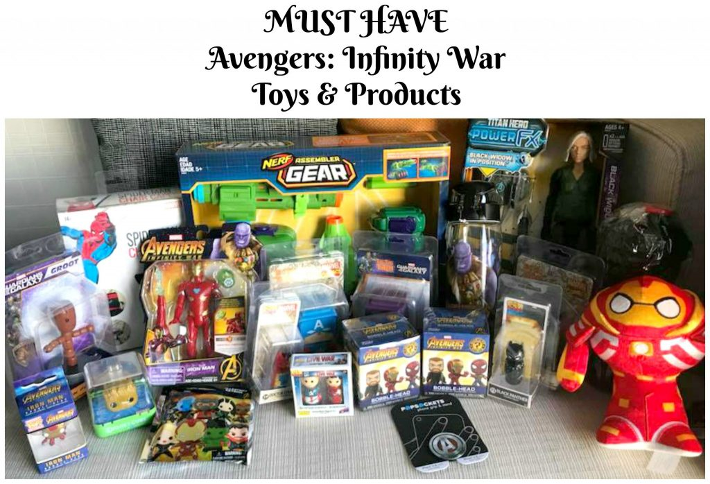 Must Have 'Avengers: Infinity War' Toys & Products
