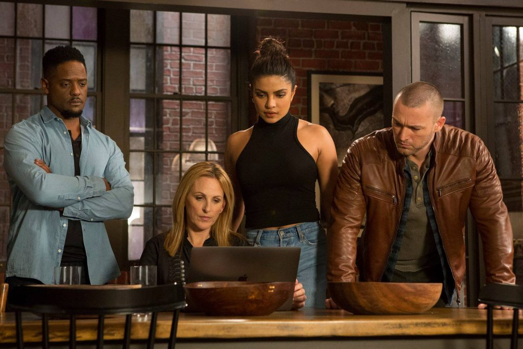 ABC's Quantico: Interview With Marlee Matlin & Executive Producer Michael Seitzman