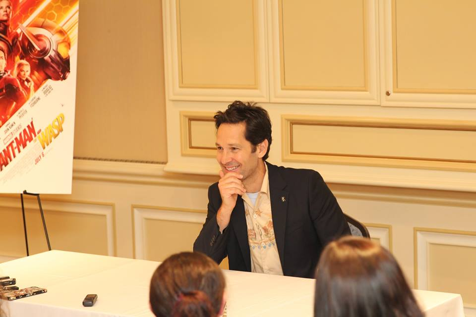 Paul Rudd Discusses His Role As Scott Lang In Antman And The Wasp