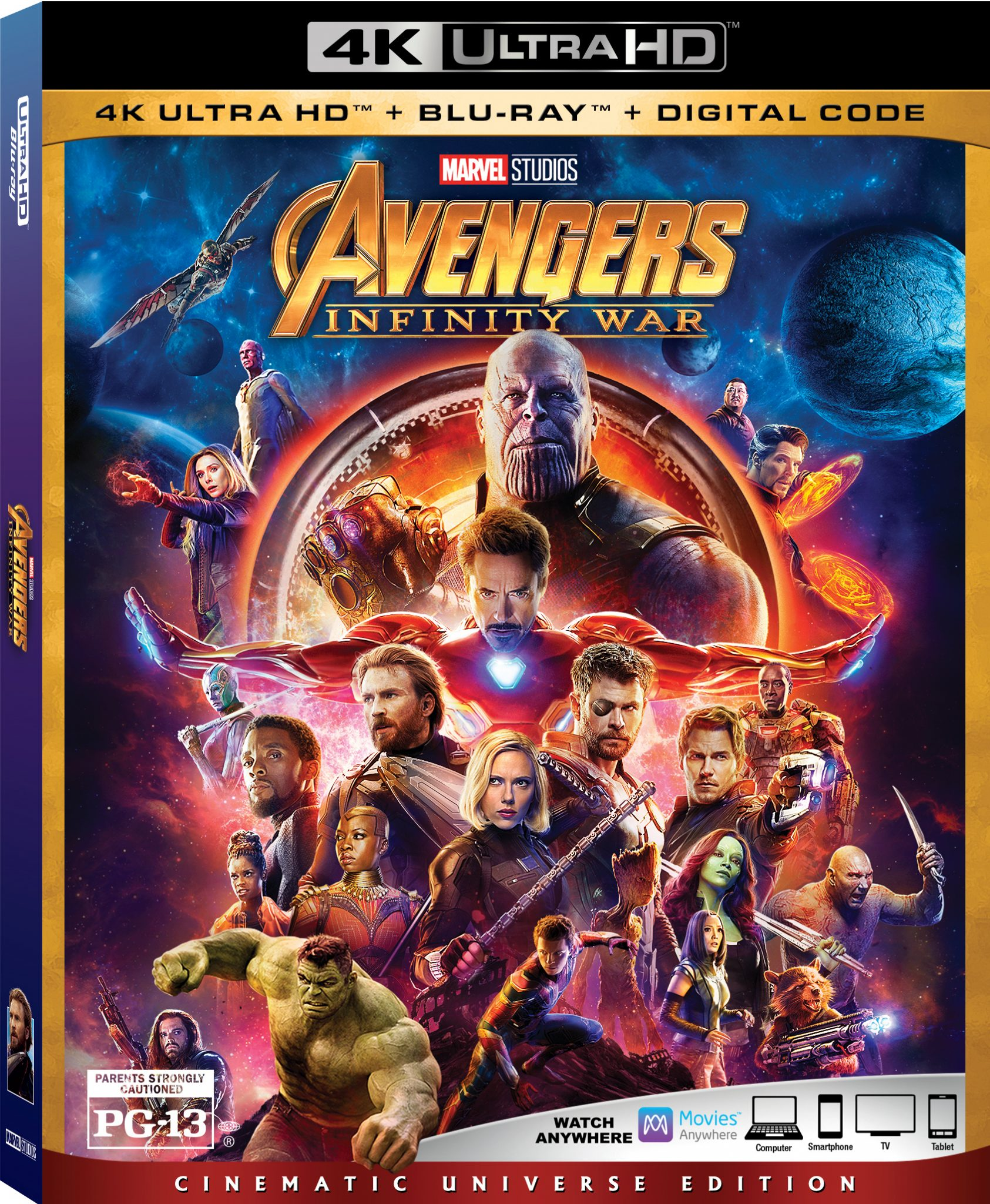 Avengers: Infinity War is out on Blu-Ray TODAY, 7/31
