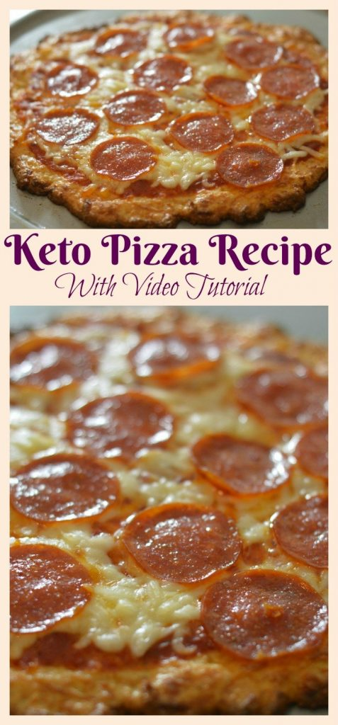 Keto Pizza Recipe: Keto Diet Dinner Ideas