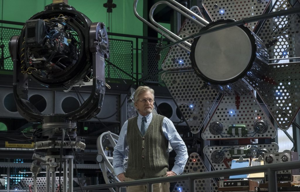 Michael Douglas Discusses Antman And The Wasp