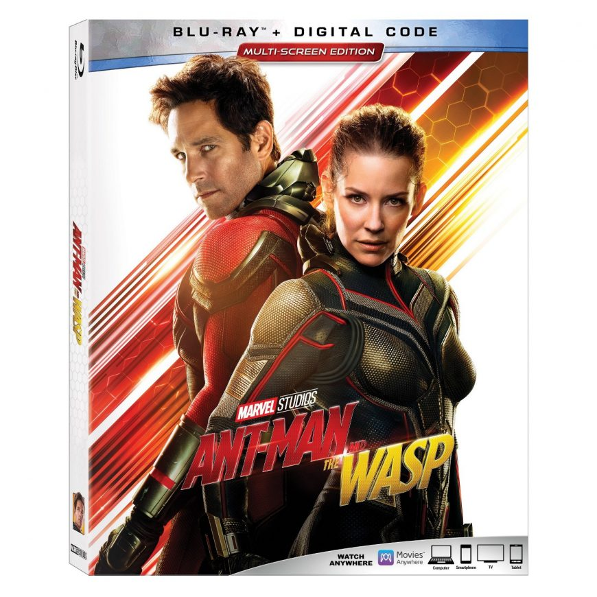 Antman And The Wasp Bluray Giveaway