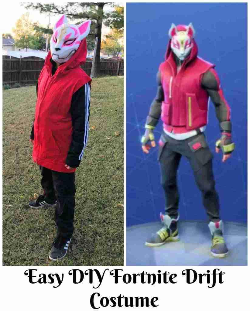 Fortnite Drift Costume Easy Diy Halloween Costume Guide 4 Moms