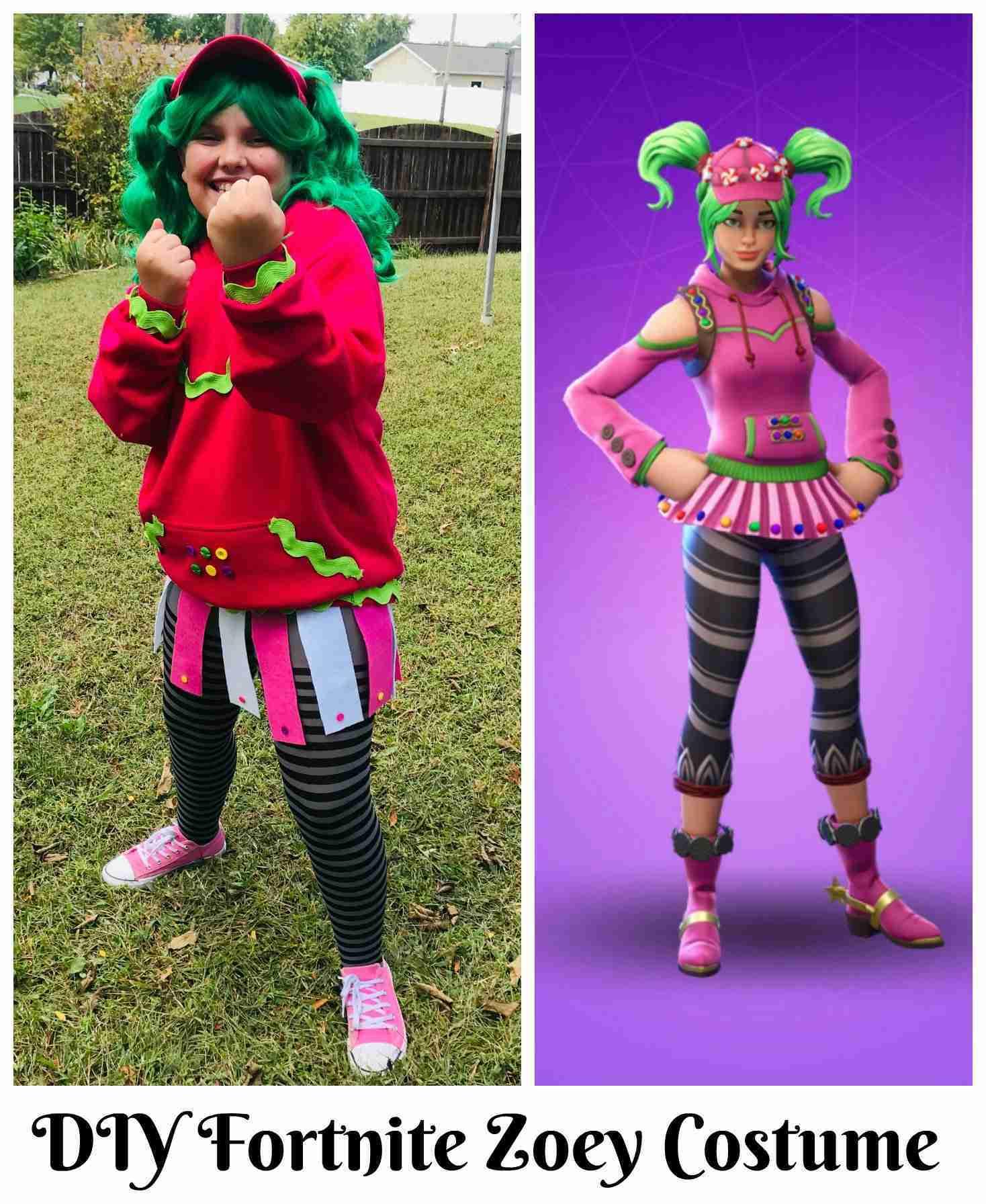 Fortnite Zoey Costume: Easy DIY Halloween Costume
