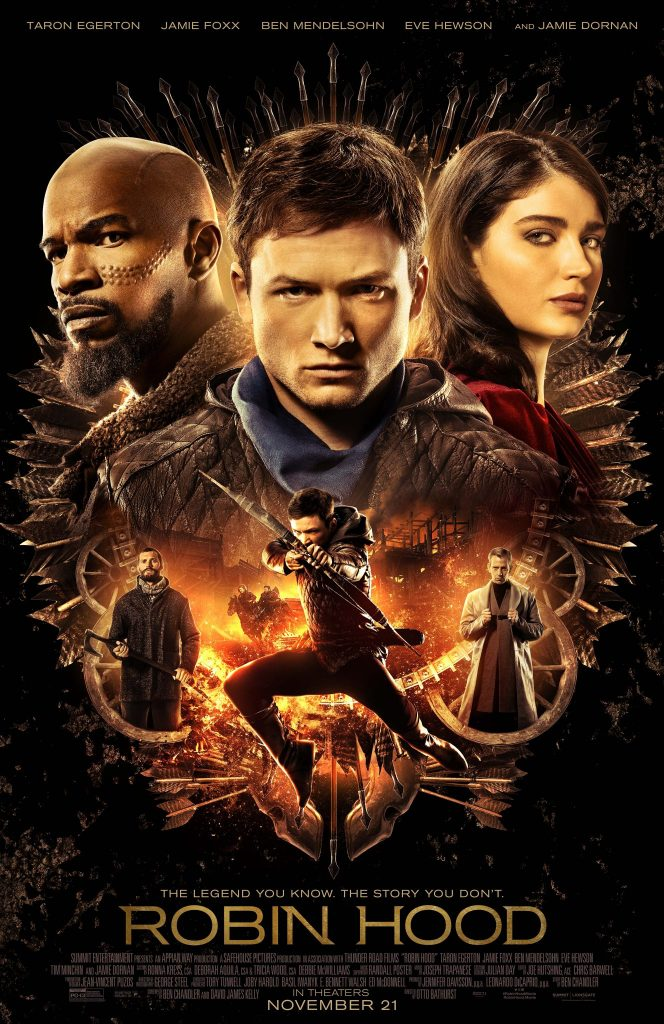 ROBIN HOOD In Theaters November 21: WIN Sneak Peek Tickets
