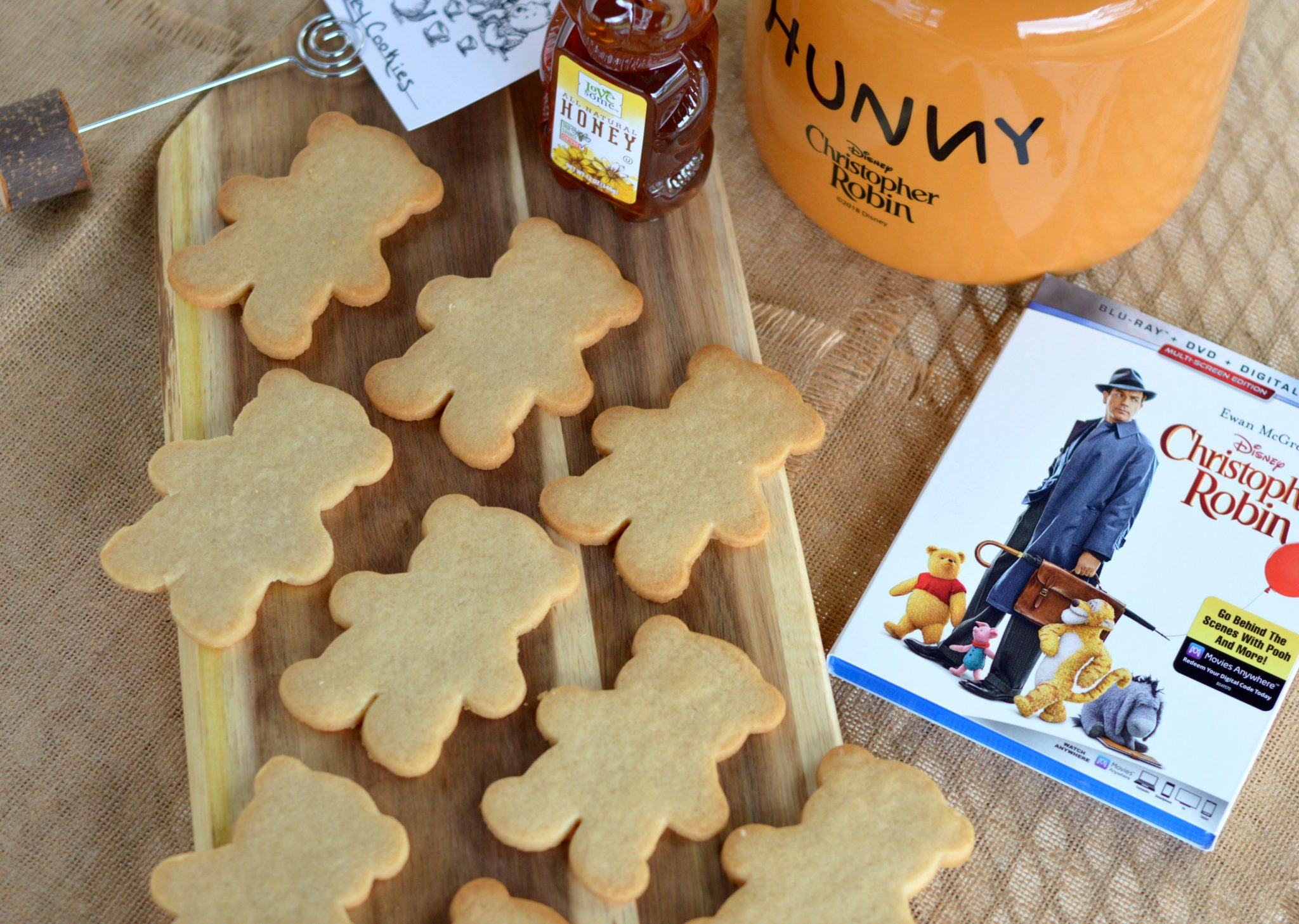 Honey Cookie Recipe: Disney's Christopher Robin On Bluray