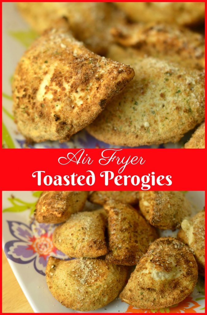 Air Fryer Toasted Perogies Recipe
