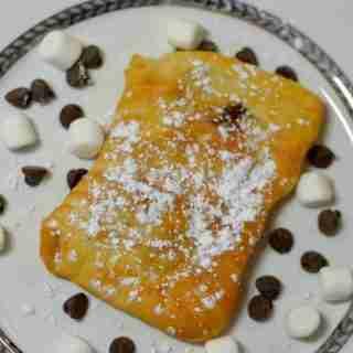 Air Fryer S'Mores Poptart Recipe