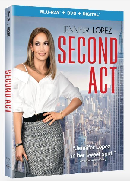 Second Act with Jennifer Lopez is NOW Available on Blu-ray