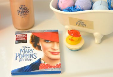 Bath Bombs DIY: Mary Poppins Returns On Blu-ray