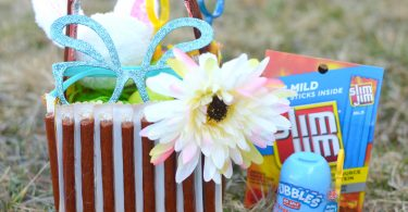 Edible Easter Basket With Slim Jim: Candy Alternatives