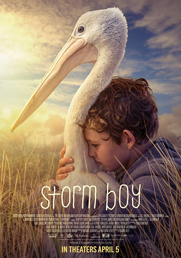 Storm Boy In Theaters TODAY April 5th: Adopt A Pelican