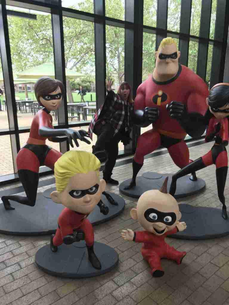 pixar studios incredibles