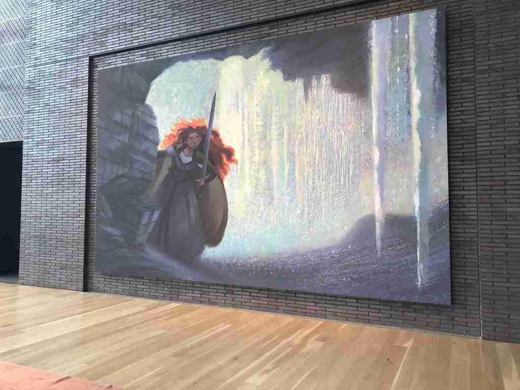 pixar studio campus brave