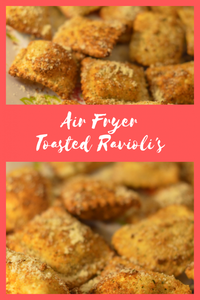 AirFryer Toasted Raviolis: Easy and Delicious