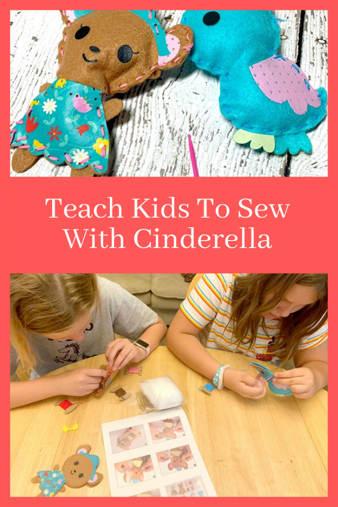 Teaching Kids To Sew With Cinderella: Now On Blu-ray