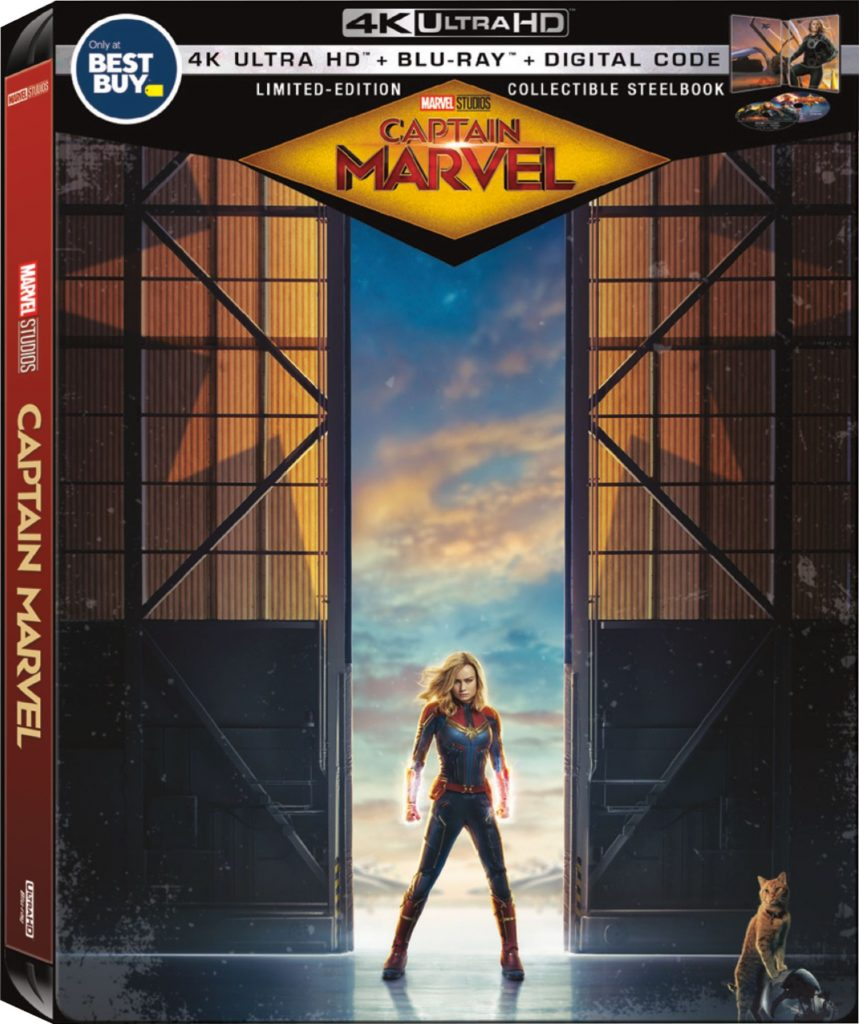 Captain Marvel Collectible SteelBook Available At Best Buy