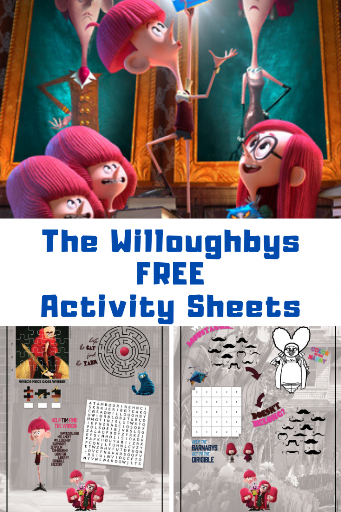The Willoughbys Activity Printables