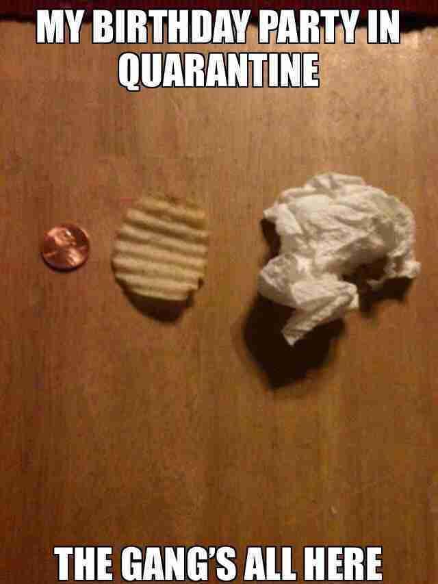 Excellent The Best Happy Birthday Quarantine Memes Guide 4 Moms Funny Birthday Cards Online Necthendildamsfinfo
