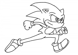 Sonic The Hedgehog Coloring Pages Activities Free Printables