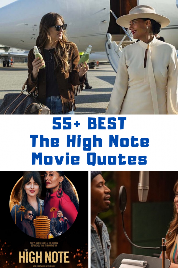 The High Note Movie Quotes