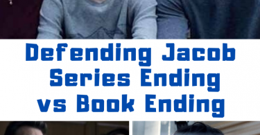 Defending Jacob Ending vs Book Ending