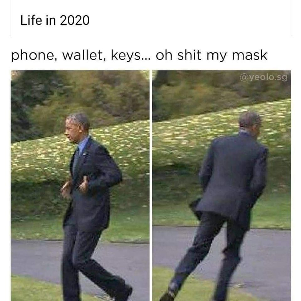 Wearing A Mask Memes