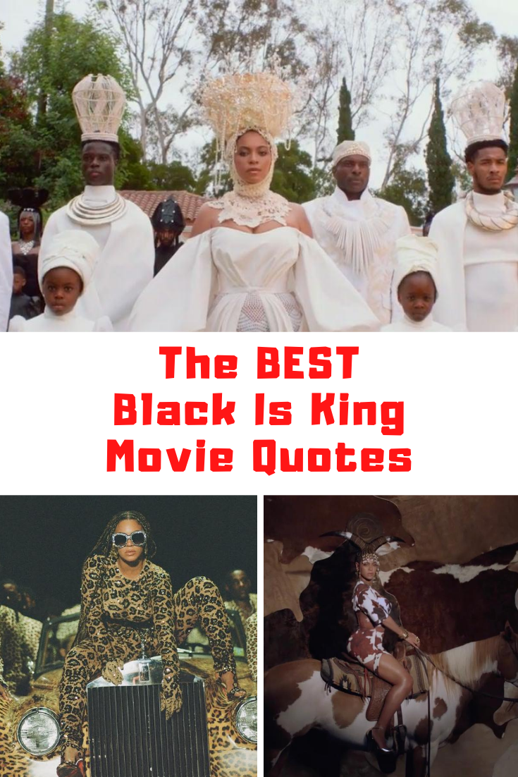 Black Is King Quotes