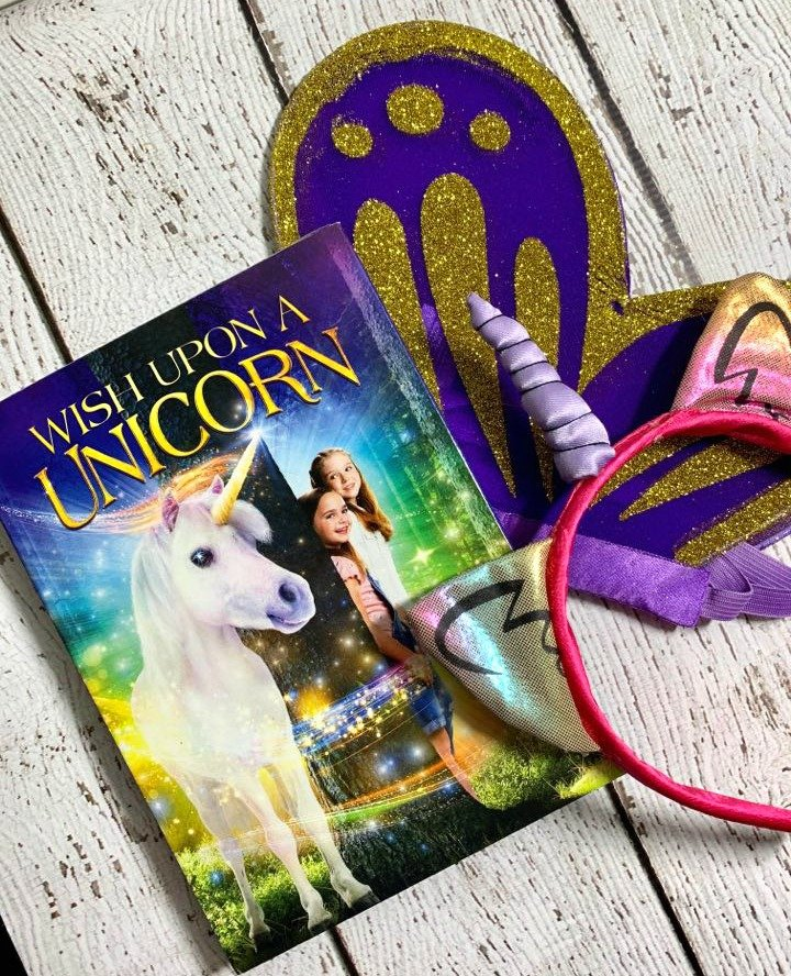 Wish Upon A Unicorn DVD Party