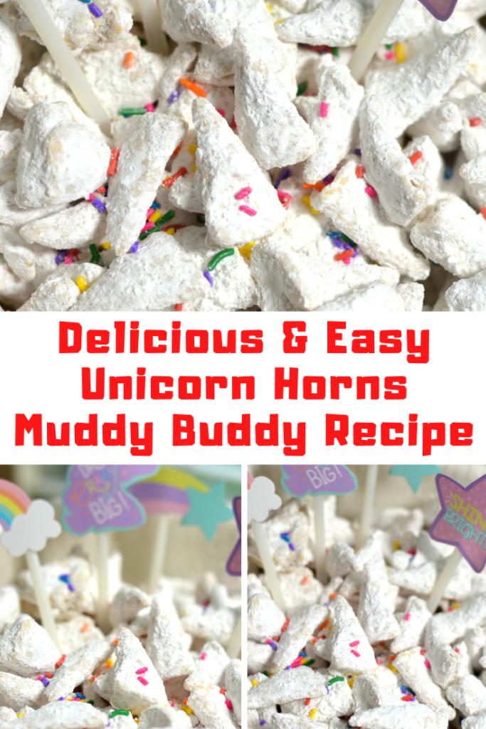 Unicorn Horns Muddy Buddy Recipe